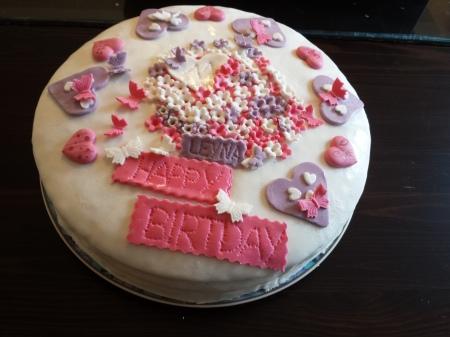 DIY Geburtstagstorte Kindergeburtstag